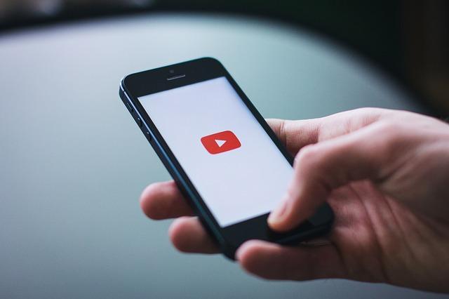スマートホン YouTube